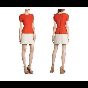 NWT BCBG HANNAH COLOR BLOCK DRESS